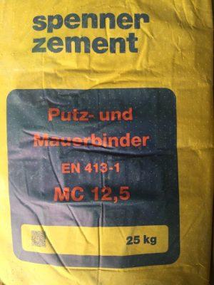 van den Broek product categorie Metselcement (24) met kalk 25 kg