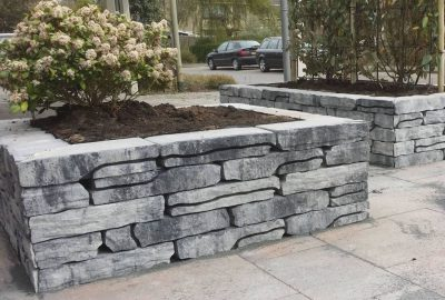 van den Broek product categorie Stone Walling naturel grijszwart
