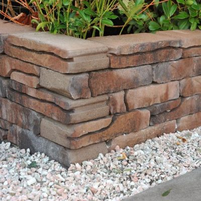 van den Broek product categorie Stone Walling naturel rood gen