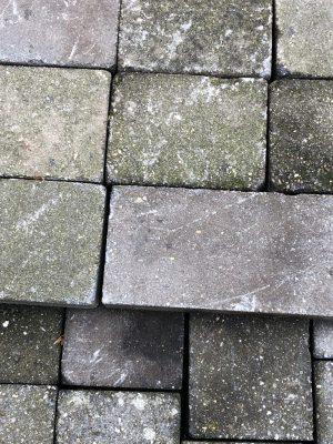 van den Broek product categorie Koppelstones Wildverband Lipozwart getrommeld gebruikt Restpartij ± 37 m²