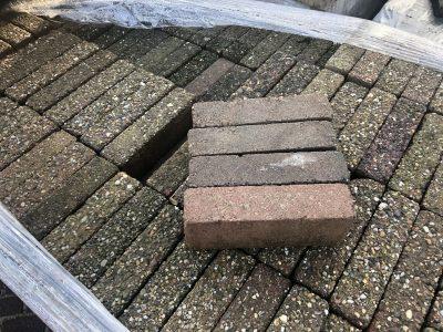 van den Broek product categorie Waalformaat beton gebruikt Lucia getrommeld Restpartij ± 13,5 m²