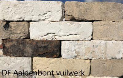 van den Broek product categorie Dikformaat metselsteen Aaldenbont vuilwerk Restpartij ± 1680 stuks