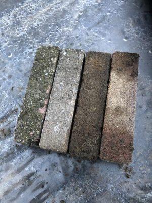 van den Broek product categorie Waalformaat beton gebruikt Kena getrommeld Restpartij ± 10 m²