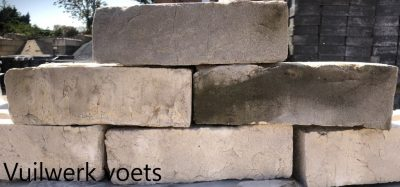 van den Broek product categorie Dikformaat metselsteen Voets vuilwerk Restpartij ± 560 stuks