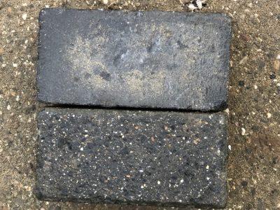 van den Broek product categorie Klinkers beton gebruikt Cyprus zwart Restpartij ± 65 m²