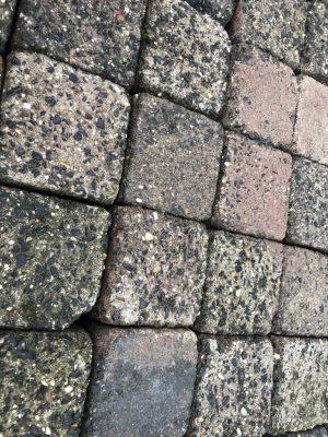 van den Broek product categorie Koppelstones 10,5×10,5×7 gebruikt Almeida Restpartij ± 9,50 m²