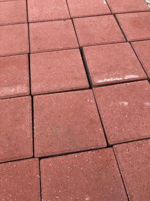 van den Broek product categorie Tegels 21x21x8 Karenrood Restpartij ± 42 m²