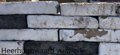 van den Broek product categorie Hilversumformaat metselsteen Heerhugowaard vuilwerk Restpartij ± 800 stuks