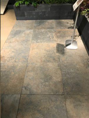 van den Broek product categorie Keramische tegels 60x60x5 Restpartij ± 8,64 m²