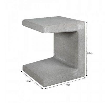 van den Broek product categorie U element 40x40x50 grijs