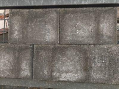 van den Broek product categorie Stenen 20x30x6 Shellygrijs ongetrommeld