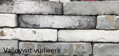 van den Broek product categorie Hilversumformaat metselsteen Valleywit vuilwerk Restpartij ± 900 stuks