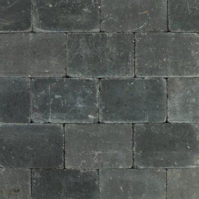 van den Broek product categorie Koppelstones 20x30x6 getrommeld Tabitazwart
