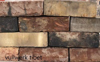 van den Broek product categorie Dikformaat metselsteen vuilwerk Tibet Restpartij ± 320 stuks