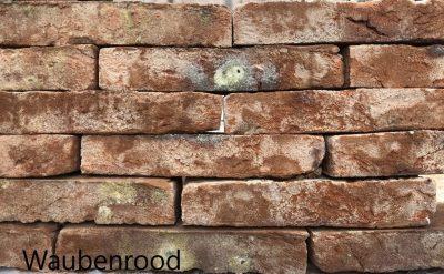 van den Broek product categorie Hilversumformaat metselsteen Waubenrood